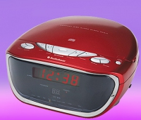 AudioSonic CDCL62 Portable CD player Rosso