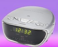 AudioSonic CDCL61 Portable CD player Argento