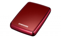 "Samsung S Series S2 Portable 320GB 2.5"", USB 2.0, 5400 RPM 320GB Rosso disco rigido esterno"