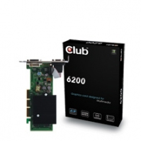 CLUB3D 6200 AGP Edition GeForce 6200 GDDR2