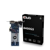 CLUB3D nVidia 8400GS PCI-E x1 Edition 512 MB DDR3 64 Bit GDDR2