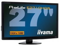 "iiyama ProLite E2710HDS-1 27"" Full HD Nero monitor piatto per PC"