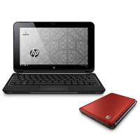 "HP Mini 210-1043es PC 1.66GHz 10.1"" 1024 x 600Pixel Rosso Netbook"