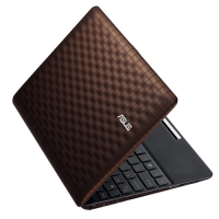 "ASUS Eee PC 1008P (Seashell Karim Rashid Collection) 1.66GHz 10.1"" 1024 x 600Pixel Marrone Netbook"