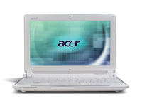"Acer Aspire One One 532h-2Bs 1.66GHz 10.1"" 1024 x 600Pixel Argento Netbook"