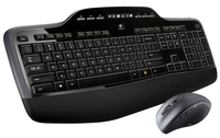 Logitech MK710 RF Wireless QWERTY International EER Nero tastiera