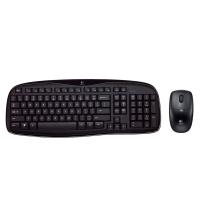 Logitech Wireless Desktop MK250 RF Wireless AZERTY Nero tastiera