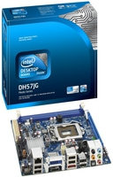 Intel DH57JG LGA-1156 mini-ITX DDR3 1333/1066 MHz 8GB LGA 1156 (Socket H) Mini ITX scheda madre