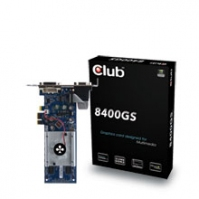 CLUB3D 8400GS PCI-E x1 Edition GeForce 8400 GS GDDR2