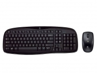 Logitech Wireless Desktop MK250 RF Wireless QWERTY Nero tastiera