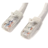 StarTech.com 3 ft White Snagless Cat6 UTP Patch Cable 0.91m Bianco cavo di rete