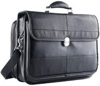 "Sony VAIO Leather Carrying Case 16"" Valigetta ventiquattrore Nero"