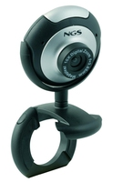 NGS XpressCam300 5MP USB 2.0 Nero, Argento webcam
