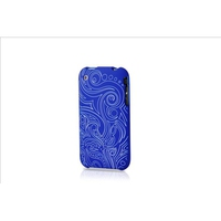 Contour Design Hardskin Inked iPhone 3G3Gs - Tribe Blu