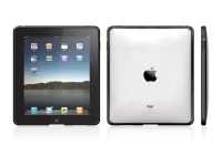 Macally Clear protective snap-on case with silicon iPad