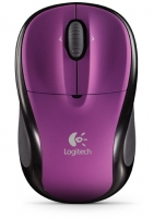 Logitech M305 RF Wireless Laser Porpora mouse