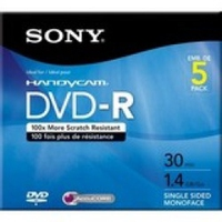 Sony 5 DVD-R 1.4GB DVD-R