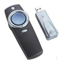 Targus Wireless Presenter Grigio, Argento puntatore wireless