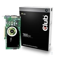 CLUB3D GeForce 7800GS AGP 256MB GDDR3
