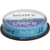 Sony DVD-R Spindle 4.7GB 10pezzo(i)