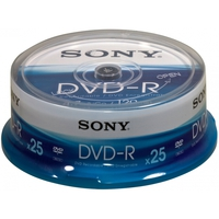 Sony DVD-R Spindle 4.7GB 25pezzo(i)