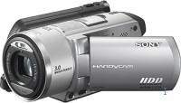 Sony DCR-SR90E Hard Disk Drive Camcorder 3MP CCD Argento