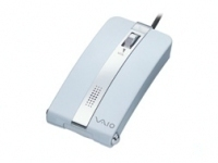 Sony USB Optical Mouse and Internet Telephone, White USB Ottico 800DPI Bianco mouse