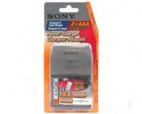 Sony BCG34HLD2A Power Charger with 2 x AAA Ni-MH batteries