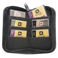 Case Logic Leatherlook Digital Media Case Black Ecopelle Nero custodia per scheda di memoria