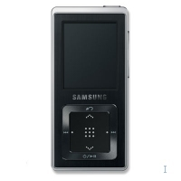 Samsung 2GB MP3 Player, Black 2GB Nero
