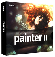 Corel Painter 11, 11-25u, UPG, Win/Mac, FR/IT/DE
