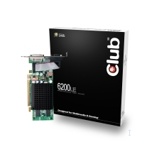 CLUB3D 6200LE 128MB GeForce 6200 GDDR2