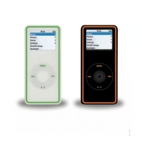 Macally iPod nano protection sleeve Black