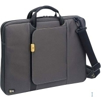 "Case Logic Hi-Tec Laptop Shuttle Case 13"" 13"" Custodia a tasca Nero"