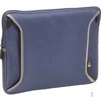 "Case Logic 13"" Laptop Shuttle Neoprene Navy Blue 13"" Custodia a tasca Blu"