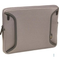 "Case Logic 12"" iBook/PowerBook Shuttle Case 12"" Custodia a tasca Argento"