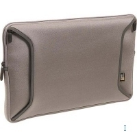 "Case Logic 15.4"" iBook/PowerBook Shuttle Case 15.4"" Custodia a tasca Argento"