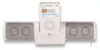 Logitech MM32 Portable Speakers for iPod Bianco altoparlante