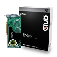 CLUB3D GeForce 7950GX2 GeForce 7950 1GB GDDR3