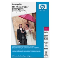 HP Premium Plus High-gloss Molto lucida Bianco carta fotografica