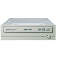 Samsung Super-WriteMaster DVD Writer 18x, Beige + Nero Software Interno Beige lettore di disco ottico