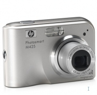 "HP PhotoSmart M425 5.25MP 1/2.5"" CCD Argento"