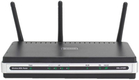 D-Link DSL-2740R Fast Ethernet Nero router wireless