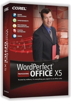 Corel WordPerfect Office X5 Professional, LMP, ENG Inglese