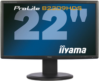 "iiyama ProLite B2209HDS-B1 22"" Full HD Nero monitor piatto per PC"