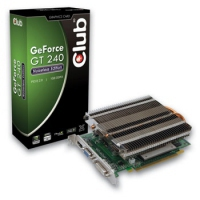 CLUB3D GeForce GT240 GeForce GT 240 1GB GDDR3