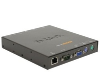 D-Link 1-port IP KVM Switch Nero switch per keyboard-video-mouse (kvm)