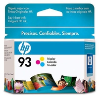 HP 93 Tri-color Inkjet Print Cartridge Ciano, Giallo cartuccia d