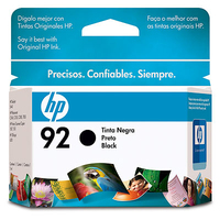 HP 92 Inkjet Print Cartridge Nero cartuccia d