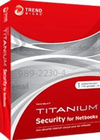 Trend Micro Titanium Security for Netbooks